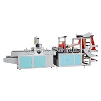 HSLQ-600 Full automatic Plastic Shopping T shirt Bag Making Machine
