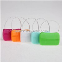 Handbag Style Retractable Data Charging cable for iphone4 5