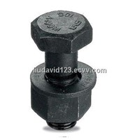 High Strength Hexagonal Head Bolts with Self Color ZP/YZP/HDG Finish