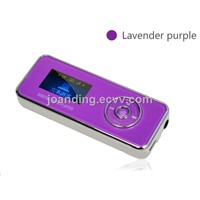 High quality mp3 music player  4GB mini mp3 player 4 colors