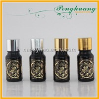 Hot stamping essential oil glass bottle