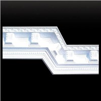 Indoor Decorative Gypsum Plaster Cornices Mouldings