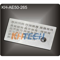 Industrial stainless steel keyboard for Ship driving console