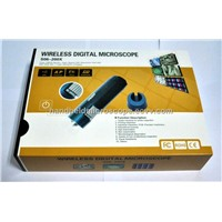 Inernal Battery 5-200X Wifi Wilress Portable Digital Microscope