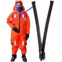 KIN immersion suit zipper waterproof & airtight zippers