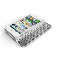 LBK309 Super thin Wireless sliding Bluetooth Magnetic Keyboard for iphone5/5s