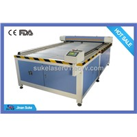 Large Format  Cloth Laser Engraving Cutting Machine