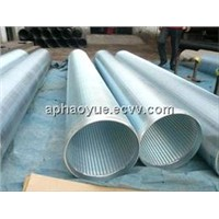 Low carbon galvanized Johnson screen tube