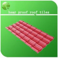 Low heat conduction and thermal insulation sound insulation roof tile