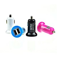 Mini Dual USB Car Charger (MINI-K)