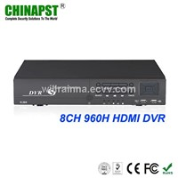 Multi-Language 8CH Real Time Home DVR Camera System PST-DVR408H