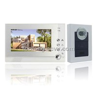 New 7inch Video Intercom Door Phone System with Memory