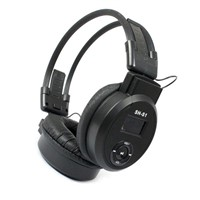 New LCD Foldable Wireless Headphone Headset FM Radio TF Card Sport MP3 Player