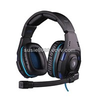 New Top Level 7.1 Sound Glittering Gaming Headset (SA-907)