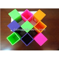 New fashion promotional eco-friendly silicone pen holder