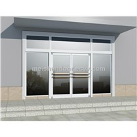 New style Aluminum doors for reataurant shop bank hospital etc