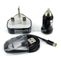 Newest Car Adapter Charger for iPhone5 Manufacturer Supplier