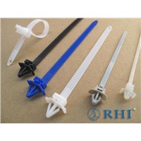 Nylon Push Mounts Cable Ties