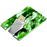OEM Card USB Disk Flash Drive for Promotional Gift