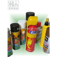 PITCH CLEANER spraying paint