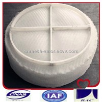 PTFE Mesh Demister Pad for Separating Water Droplets (Tower Internal) (Own Manufacturer)