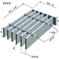 Pre-engineered Steel Grating Tread Structure Fabrication