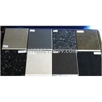 Pure color quartz stone for kitchen countertop/vanity top