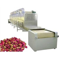 Microwave red rose drier machine-Flower microwave drying equipment