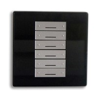 SmartBus 6 Button Switch Wall Panel Home Automation Light Control