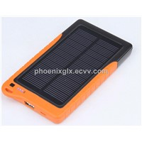 Solar Panel Charger for iPod, iPhone and iPad, with High Capacity Up to 7,200mAh