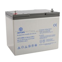 Square Shape Lead Acid Rechargeable Battery Suitable for Variety Equipment (12V/80ah)