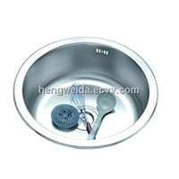 Stainless steel wash sink(430)