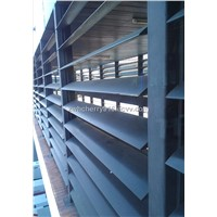 Supply Aluminum louvers used for architectural louver