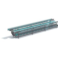 Three Layers Picking Horizontal Conveyor