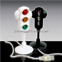 Traffic Light 3 Port USB Hub