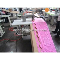 Ultrasonic Lace Sewing Machine For Table Cloth
