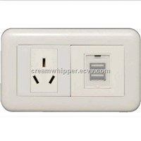 Wall USB Power Socket