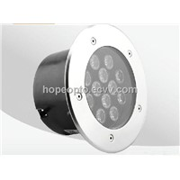 Waterproof IP68 12V/24V 12W LED Underground light,LED Floor Lamp
