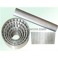 Wedge Wire water filter/Rod Based Continuous Slot well Screen