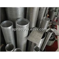 Wedge wire screen cylinders/filter drum