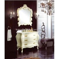 White Victoria Bathroom Cabinet