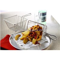 Whole Sale Price Stainless Steel Frying Basket (Manufactory)