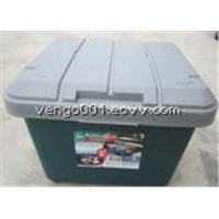 Wholesale lockable plastic car storage box for storing tools