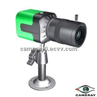 Wireless High Resolution Color Box CCTV Camera