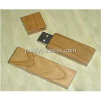 Wooden USB Pen Drive Flash Memory Customized Logo