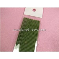 XQ HOT christmas paper covered stem wire(all kinds of color)/paper covered floral wire