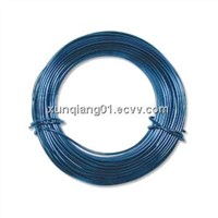 anodized aluminum wire/craft making colored round aluminum wire