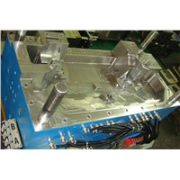 auto part engine cover plastic injection mould