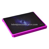 best selling colorful laptop stander with two fans