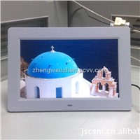 cheap10 inch digital photo frame ratio 16:9 with gravity sensor
